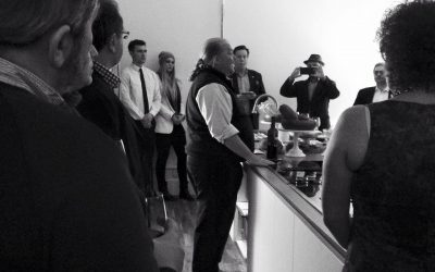 Christening the via alta studio kitchen in style with Mario Batali