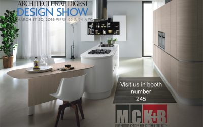 Visit us at booth number 245 at the 2016 Architectural Digest Home Design Show