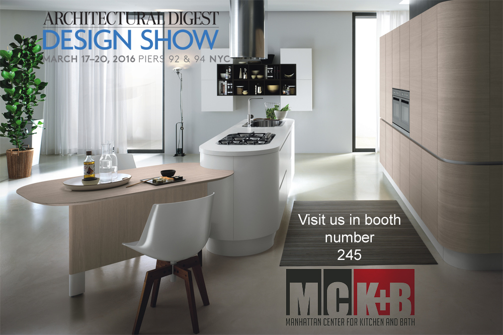 Visit us at booth number 245 at the 2016 Architectural Digest Home