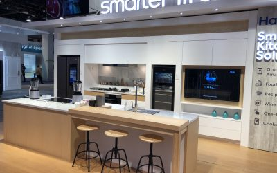 MCKB Design's Haier Appliances Kitchen Displays at CES Las Vegas 2019